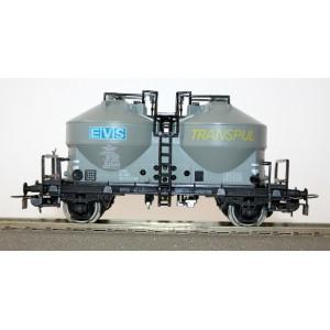 2-osiowy silos EVS Transpul SNCF - PIKO H0
